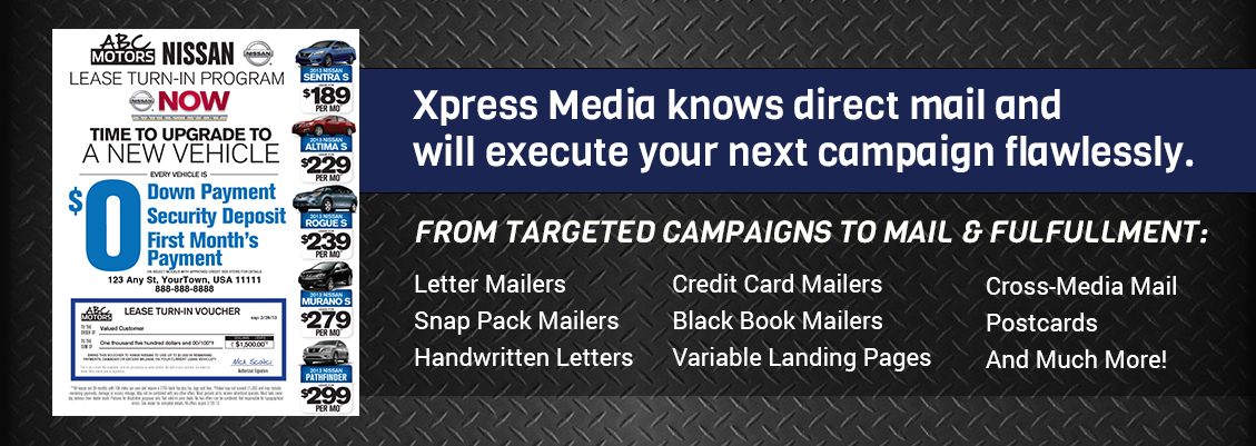 Direct Mail | Xpress Media | Direct Mail Marketing